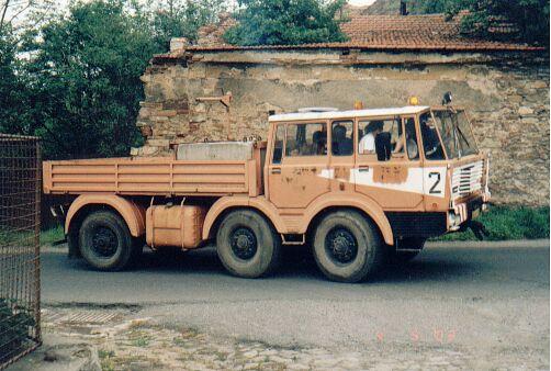 T813, 6x6 TP, Radovan