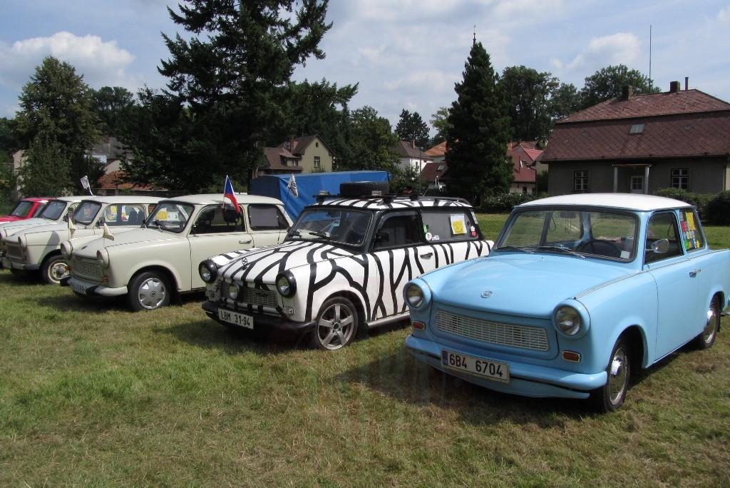 VI. ročník srazu historických vozidel koncernu IFA a hostů v Potštejně